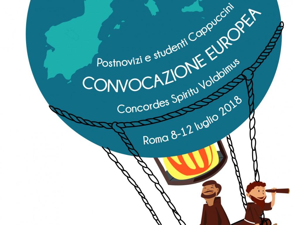 Convocazione Europea postnovizi e studenti Cappuccini (Roma, 8-12 luglio 2018)